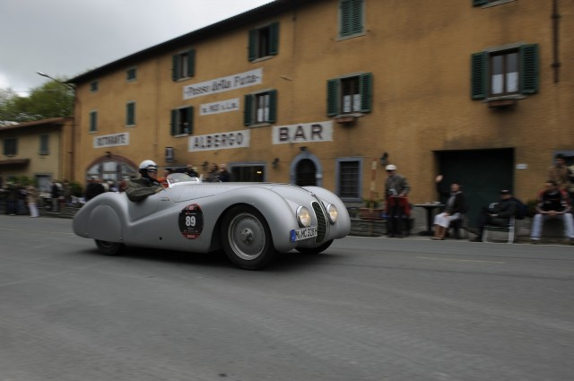 The 328 Mille Miglia Roadster in the 2010 event.