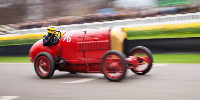 The antique Fiat racer is a riotous crowd pleaser | Stefan Marojam