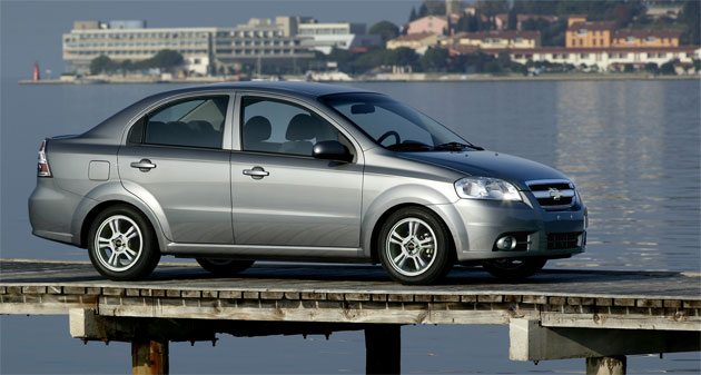 The Chevy Aveo is already built in Mexico