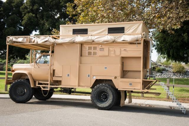 The Chevy C70-based Survivor Truck - image: Survivor Truck