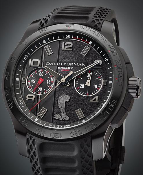 The David Yurman Shelby 1000 watch. Image: David Yurman