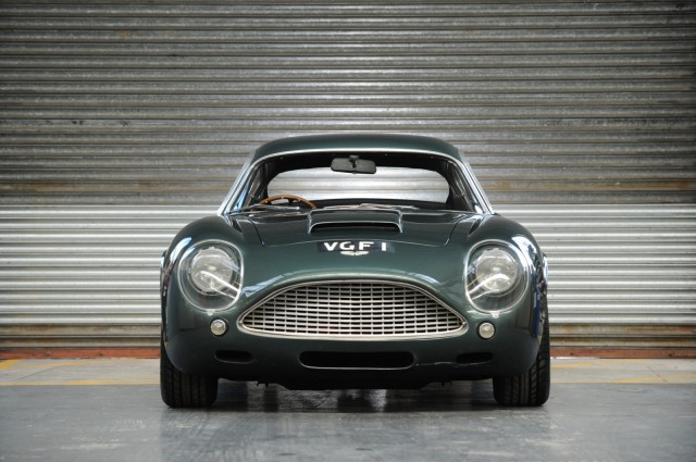 The final 1991 Aston Martin DB4 GT Zagato Sanction II Coupe built.