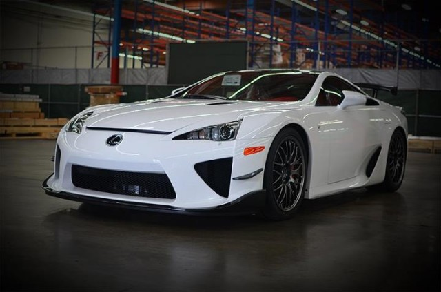 The first Lexus LFA Nurburgring Edition to land in the U.S.