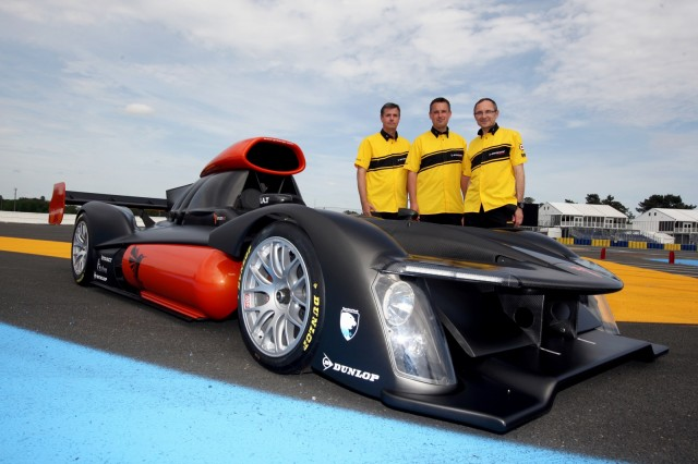The GreenGT H2 hydrogen fuel cell Le Mans Prototype - image: Dunlop Motorsport