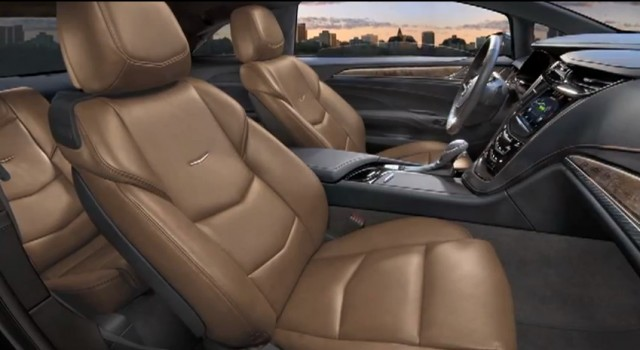 The interior of the upcoming Cadillac ELR