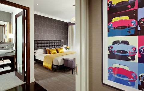 The Jaguar Suite at 51 Buckingham Gate. Image: Taj Hotels, Resots and Palaces