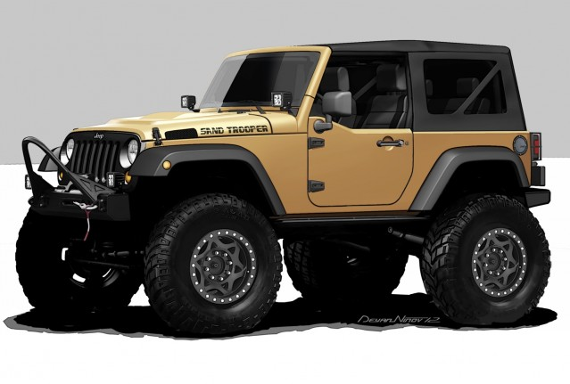 The Jeep Wrangler Sand Trooper