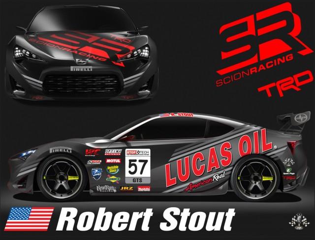 The Ken Stout Racing Scion FR-S GTS
