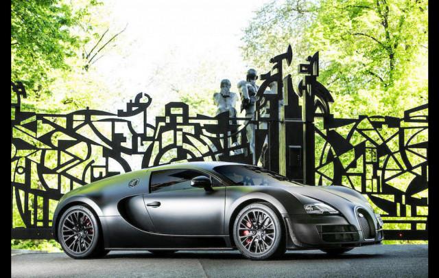 The last Bugatti Veyron Super Sport built heads to auction