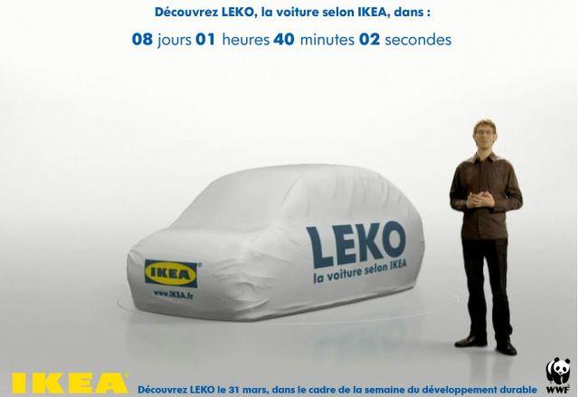 The LEKO promo from IKEA