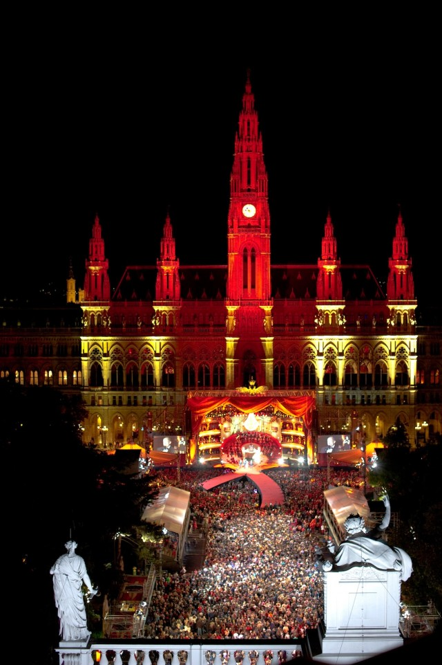 The Life Ball charity event, to raise money for HIV and AIDS research - image: Christoph Leder