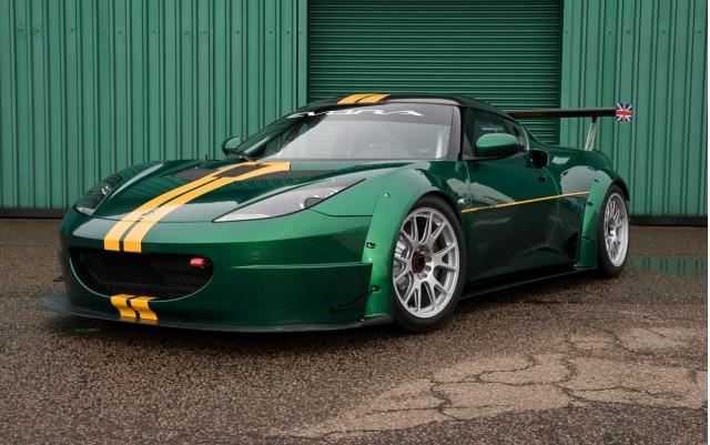 The Lotus Evora GTC
