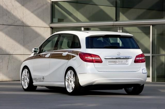 The Mercedes-Benz B-Class E-Cell Plus concept. Image: Mercedes-Benz