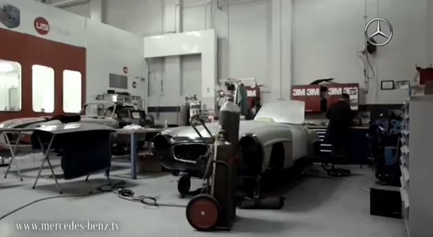 Mercedes-Benz Classic Brings The Past Back To Life: Video