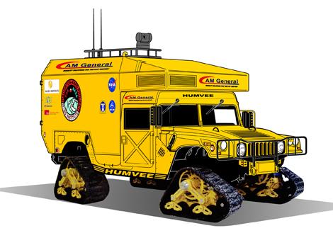 The Moon-1 Humvee