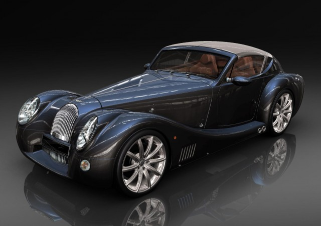 Morgan Plus E Electric Roadster Modern Battery In Classic Car
