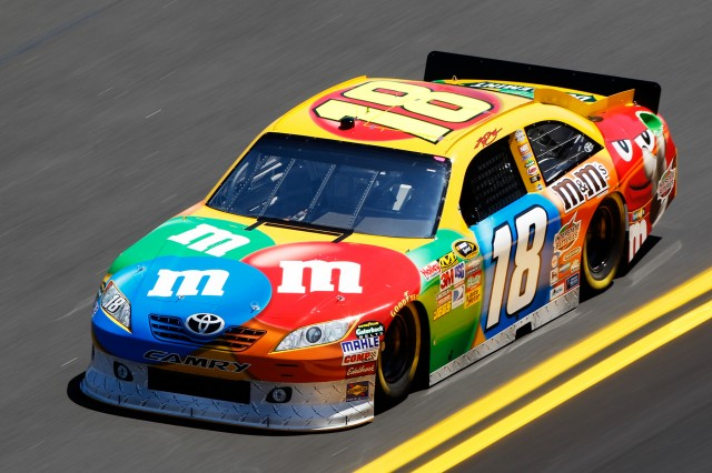 The No. 18 in better times - NASCAR photo