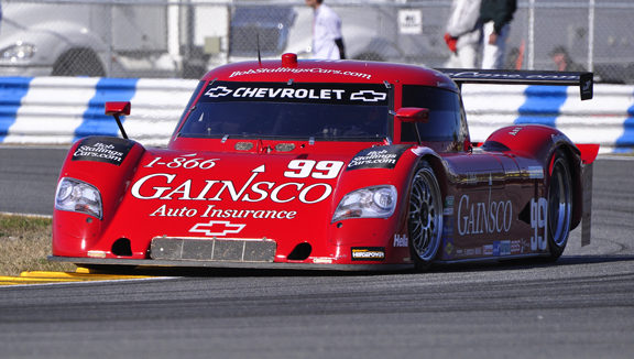 The No. 99 GAINSCO/Riley at the 2011 Rolex 24 - Anne Proffit photo