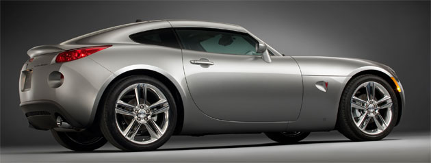 The Pontiac Solstice Coupe One Of Gm S Best Looking Cars Recent Years