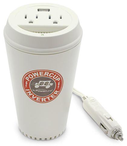 The PowerLine PowerCup inverter