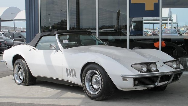 The stolen 1968 Corvette - Image courtesy of Drive