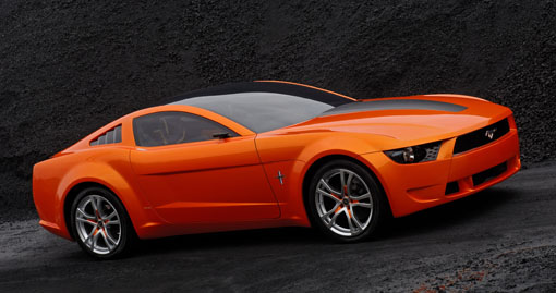 Mustang Concept >> The Stunning Giugiaro Designed Mustang Concept