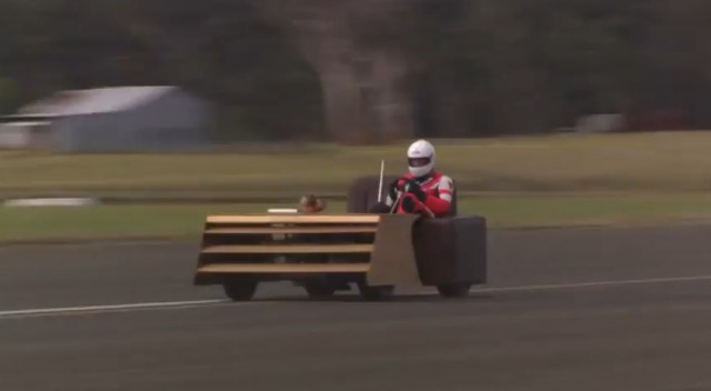 The world's fastest motorized couch