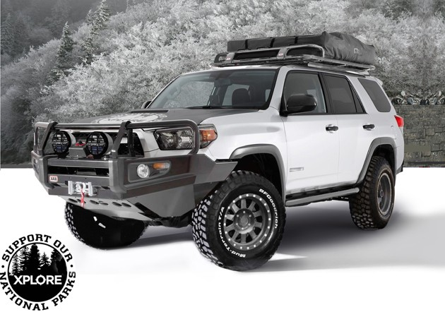 The Xplore Adventure Series Toyota 4Runner
