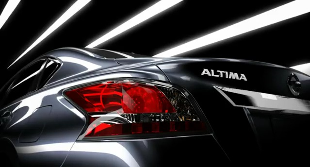Third teaser image of the 2013 Nissan Altima