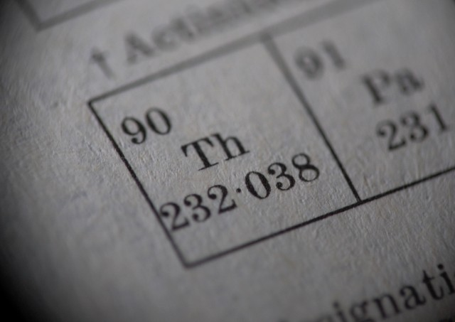 Thorium could be used as car fuel