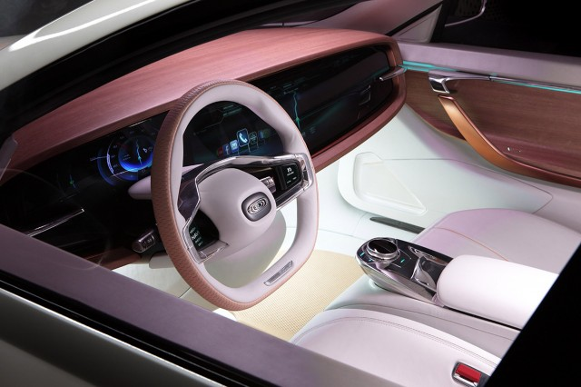 Thunder Power Sedan concept, 2015 Frankfurt Auto Show