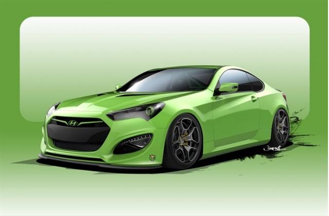 TJIN Edition Hyundai Genesis Coupe