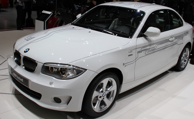 BMW ActiveE at 2011 Geneva Motor Show, photo by Robert Llewellyn