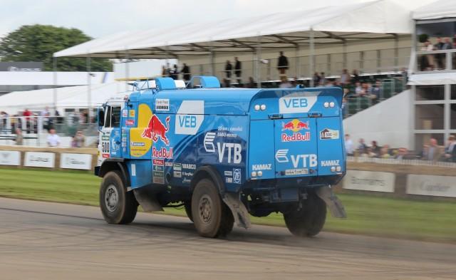 Kamaz T4 Dakar Rally Truck at 2016 Goodwood Festival of Speed