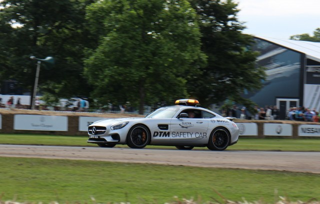 Mercedes-AMG GT course car at 2016 Goodwood Festival of Speed