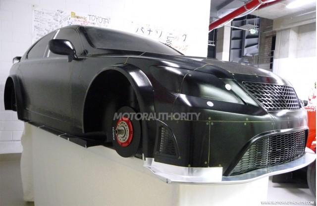 TMG Lexus LS 650 wind tunnel prototype