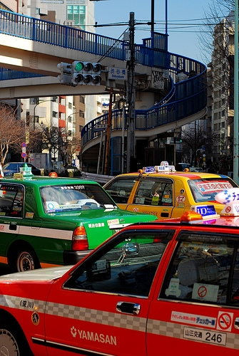 Tokyo taxis