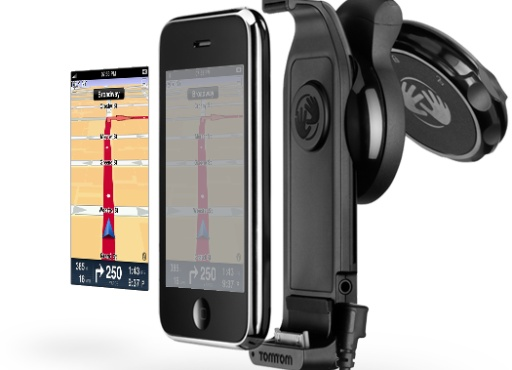 TomTom iPhone App and Car Kit