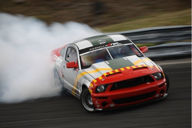 Tony Brakohiapa drifting a Ford Mustang -- from interview by RPM