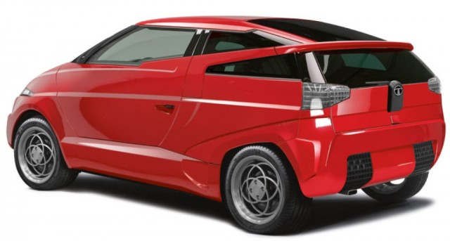 Top-secret Tata composite car styled by Marcello Gandini?