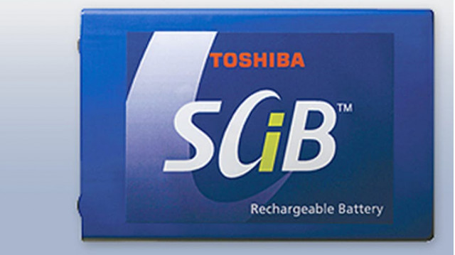 Toshiba SCiB battery cell