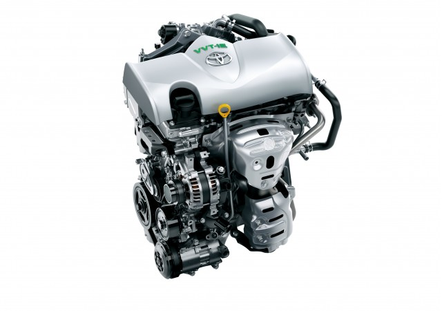 Toyota 1.3-liter Atkinson-cycle gasoline engine