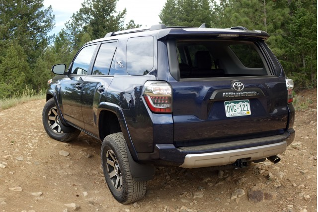 2017 Toyota 4Runner TRD f Road trail review archaic in