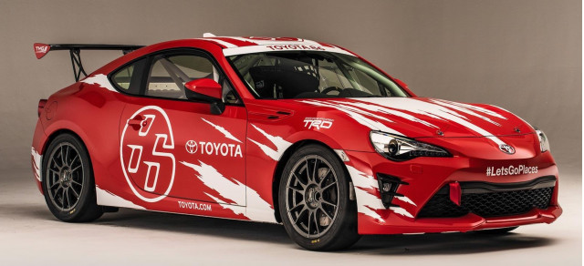 Toyota 86 Cup Car