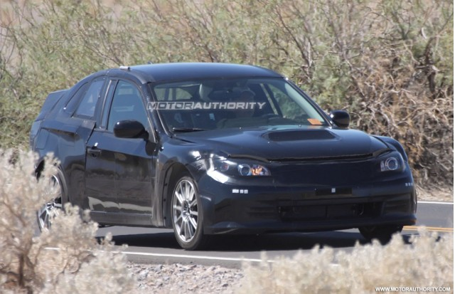 Toyota and Subaru joint sports coupe test mule