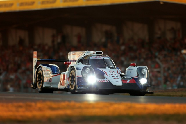 Toyota at the 2014 24 Hours of Le Mans