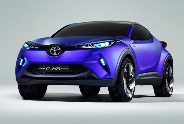 Toyota C-HR concept, 2014 Paris Auto Show