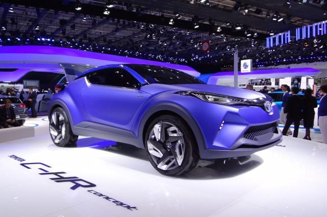 Toyota C Hr Concept 2017 Paris Auto Show