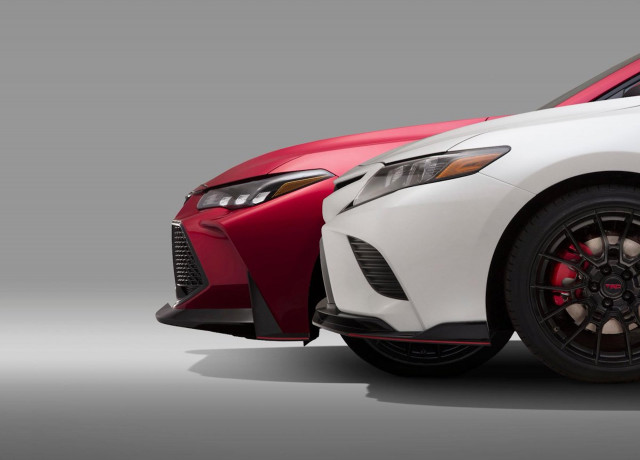 Toyota Camry and Avalon TRD teaser