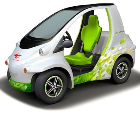 Toyota Announces Tiny Single Seat Electric Car For Short Trips